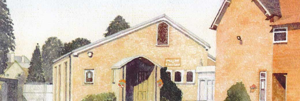 Painting of Sacred Heart Church by Fr John